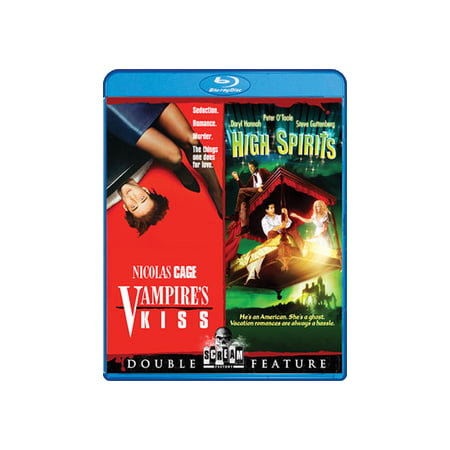 Vampire's Kiss / High Spirits (Blu-ray) (That Spirit Of Christmas By Ray Charles)