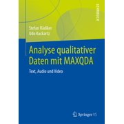 Analyse qualitativer Daten mit MAXQDA - eBook