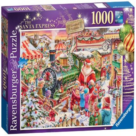 ravensburger christmas 2013 limited edition the santa exp - Ravensburger Christmas Puzzles