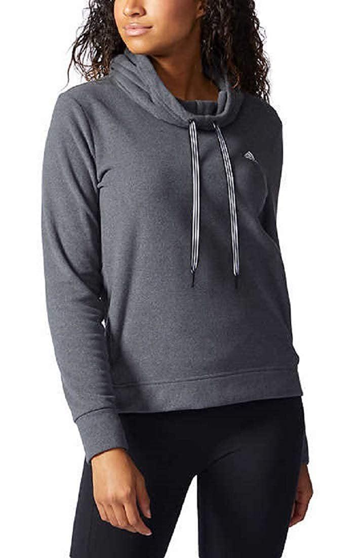 adidas Women's Fleece Trans Hoodie