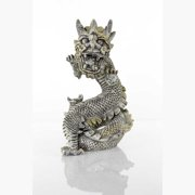 "BioBubble Decorative Stone Dragon, Large, 11.5"" x 7"" x 11.75"""