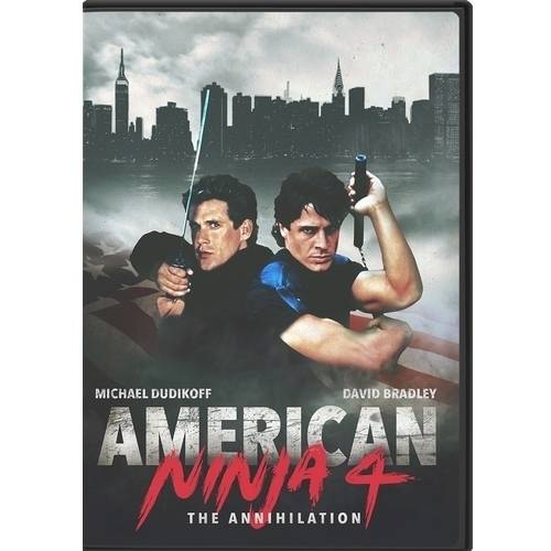 American Ninja 4: The Annihilation by Olive Films