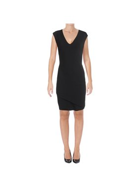 39b2cfc9c43 Product Image Lauren Ralph Lauren Womens Crepe Layred Cocktail Dress