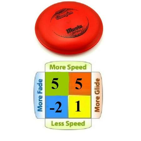 Manta Champion Plastic Mid Range Golf Disc - image 1 of 1
