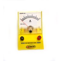 Eisco Labs Analog Ammeter, DC Current Meter, 0 - 10 Amp, 0.2A resolution