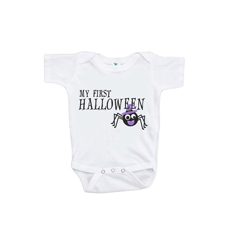 Custom Party Shop Baby's First Halloween Onepiece - 6-12 Month (Baby's First Halloween Party Ideas)