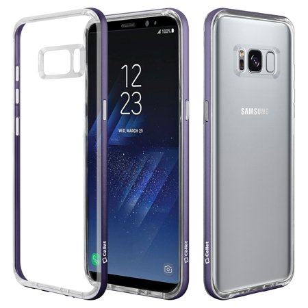 brand new 0ed40 b8ca4 Cellet Dual TPU Bumper Case for Samsung Galaxy S8 - Orchid Gray