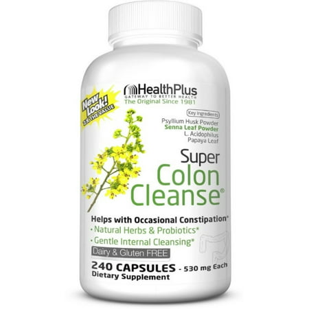 Health Plus Super Colon Cleanse, Capsules 240 ea