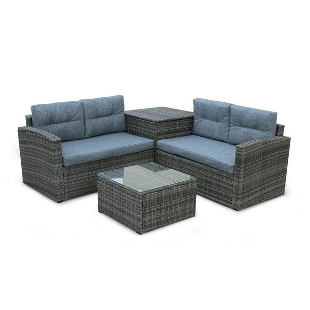 Patio Furniture Sets Clearance 4 Pcs
