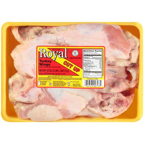 Royal Cut Up Turkey Wings, 32 oz