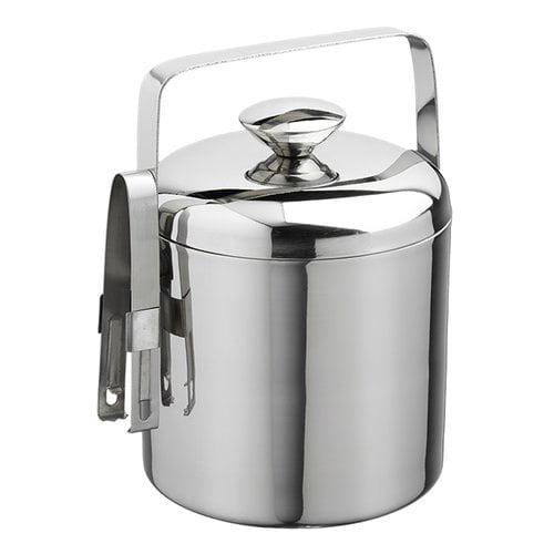 Kraftware Kraftware Metals 1.5 Qt. Ice Bucket with Tong