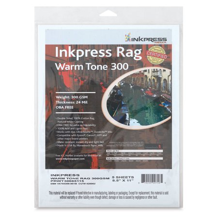 Inkpress Rag Warm Tone Inkjet - Inkpress Rag Digital Paper