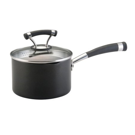 Circulon Contempo Sauce Pan in Black