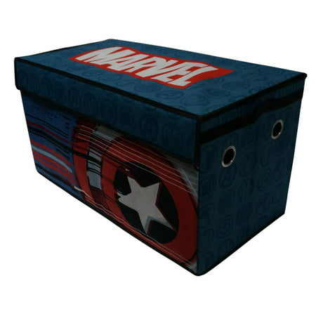 Avengers Soft Collapsible Storage Toy Box Trunk (Avengers Decor)