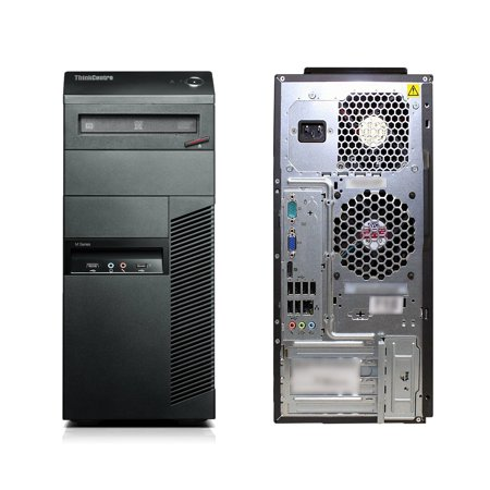 Refurbished - Lenovo ThinkCentre M91p, TWR, Intel Core i3-2100 up to 3.10 GHz, 4GB DDR3, 250GB HDD, DVD-RW, Win10 Home 64 - image 3 of 3