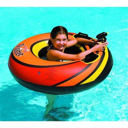 Swimline Vinyl Power Blaster Dual Squirter Set Pool Float,