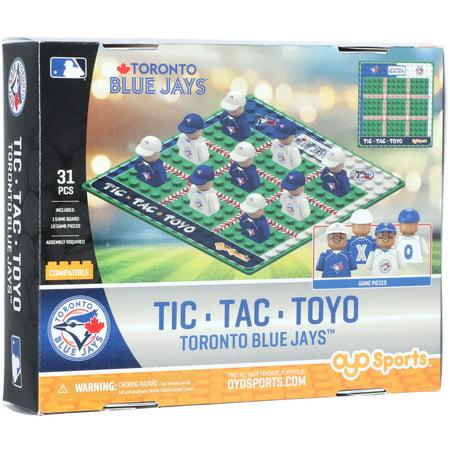 Toronto Blue Jays Game - Toronto Blue Jays OYO Sports Tic Tac Toyo Game - No Size