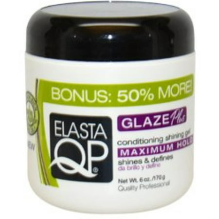 - Elasta QP Conditioning Maxium Hold Shining Gel, 6 oz