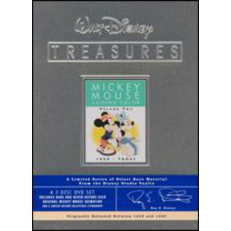Walt Disney Treasures: Mickey Mouse In Living Color - Volume Two 1939 - Today (Limited Edition Tin Packaging) (Mickey Mouse Movies Instant Video)