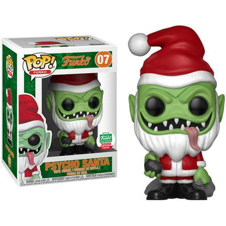 POP! Funko Psycho Santa (Green Version) Vinyl Figure [12 Days of