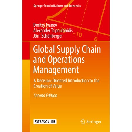 Global Supply Chain and Operations Management - (Economics Of Farm Management In A Global Setting)