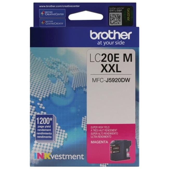 Brother International LC20EM Innobella Super High-Yield Ink, Magenta