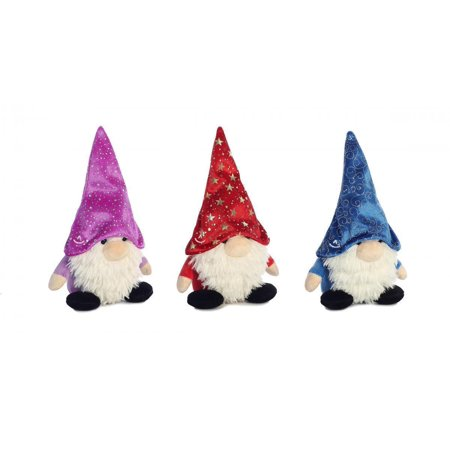 Wizard Of Oz Plush (Set of 3 Aurora Plush FANTASY GNOMLINS Wizard Hat Gnomes, 7