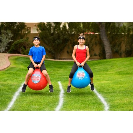 - American Ninja Warrior Race Hop Ball set