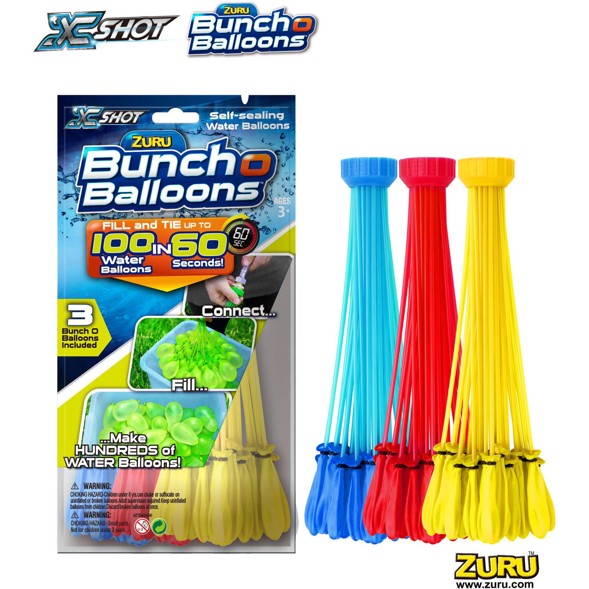 Where can you buy balloon arch kits in delaware - Zuru Bunch O Balloons 3pk Foilbag Boy