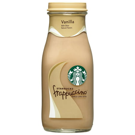 Starbucks Frappuccino Chilled Coffee Drinks, Mocha and Vanilla Flavors, 9.5 ozGlass Bottles (Pack of 15))