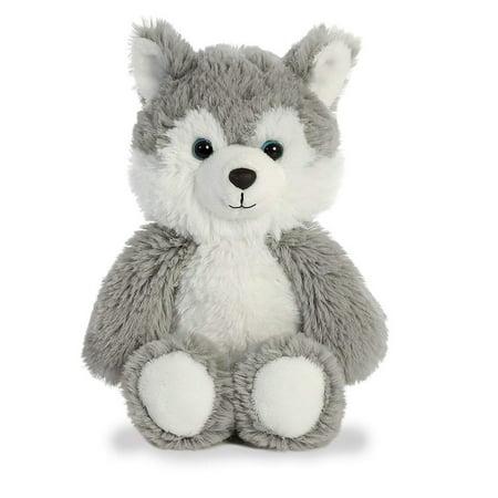 Aurora Husky Plush, Grey - Husky Plush