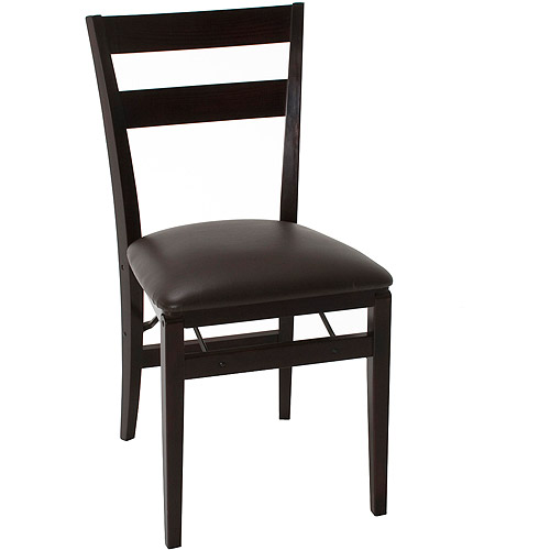 Better Homes and Gardens Wood Chair, Set of 2, Mahogany