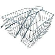 Basket Wald 535 Twin Rear Rack, Large, 18x7x12
