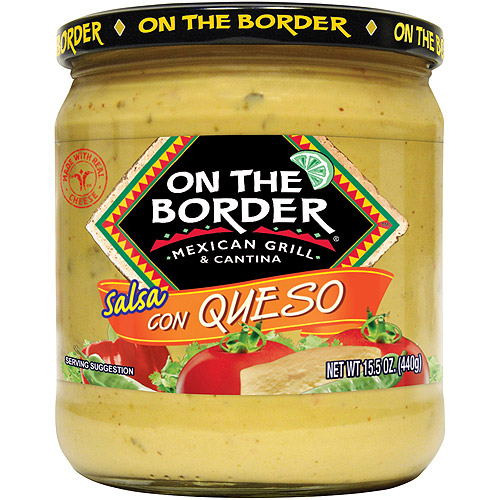 On The Border Mexican Grill & Cantina Salsa Con Queso, 15.5 oz