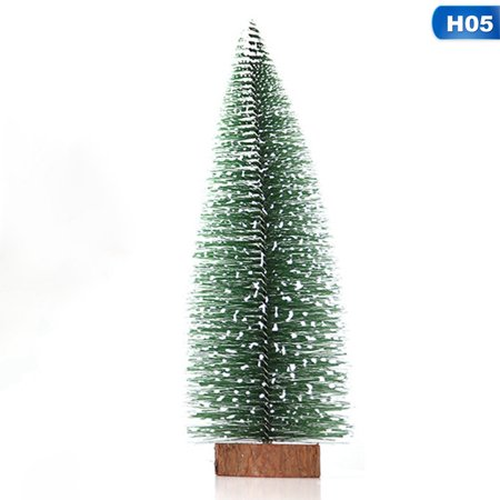 AkoaDa Mini Christmas Tree Cedar Desktop Decoration Miniature Christmas Ornaments ()