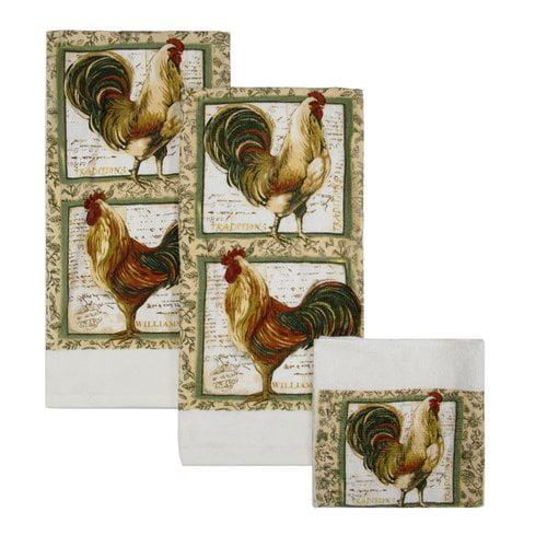 Williamsburg Rooster 6-Piece Kitchen Set