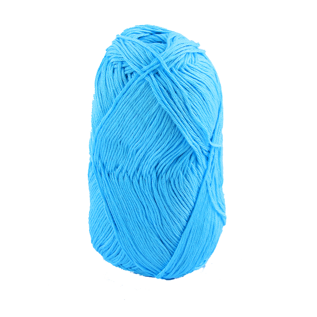 Cotton Hand Knitting Clothes Hat Sweater Crocheting Crochet Thread 50 Gram Blue