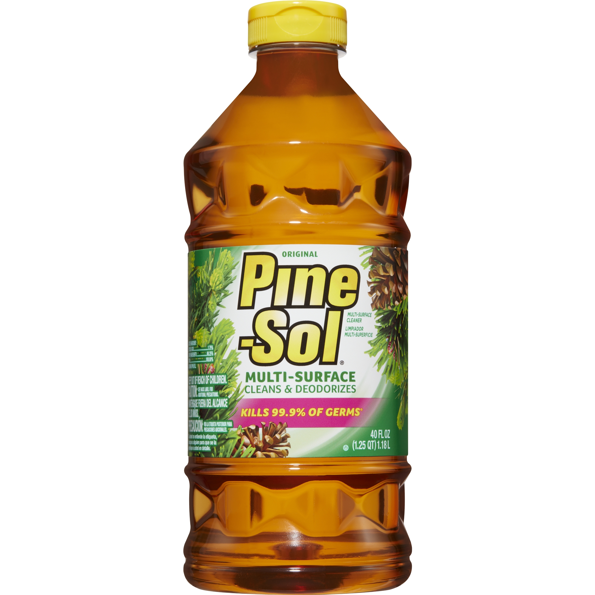 Pine-Sol Multi-Surface Cleaner, Original, 40 oz Bottle