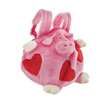 Happy House Children`s Fat Piggy Plush Mini Backpack