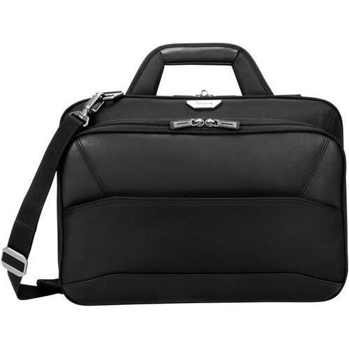Targus PBT268 15.6IN Mobile ViP Checkpoint Friendly Slim Brief with SafePort Sling Drop Protection by Targus