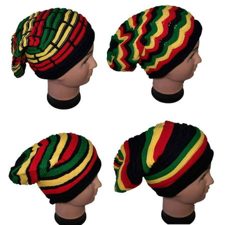 Reggae Rasta Bob Marley Style Beanies Winter Caps Winter Hats - Gifts (Wca21*)