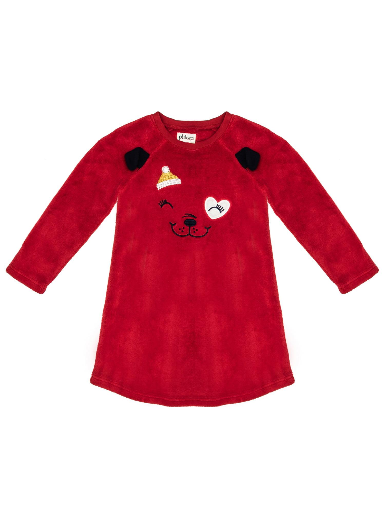 Petit Lem - Petit Lem Girl's Christmas Pajama Nightgown ...