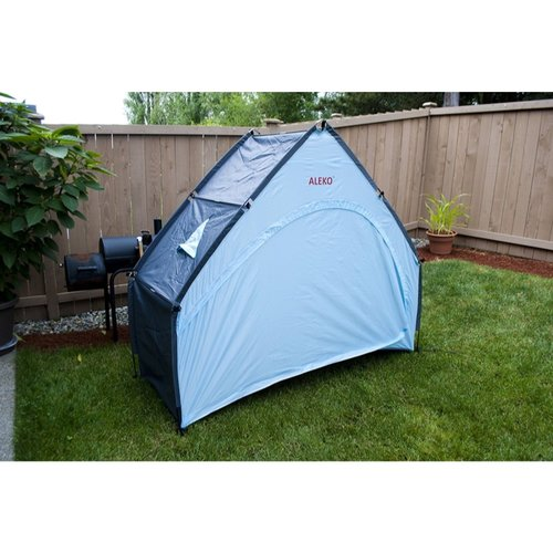 Aleko Outdoor Bike Garden and Pool Storage 2 Person Tent with Carry Bag by