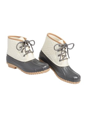 Kyra Quilted Duck Boot