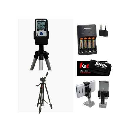 Pocket Radar Pro-Level Speed Training Tool and Radar Gun, Tripod, & Smartphone Tripod