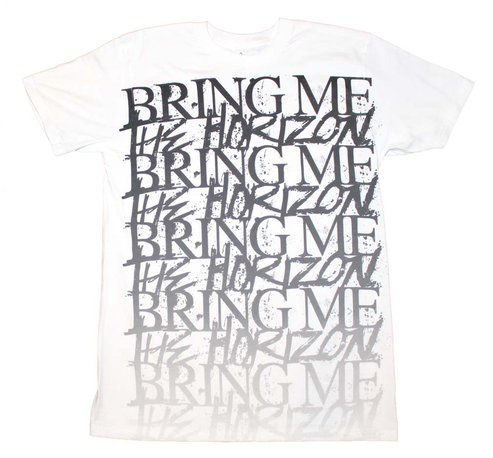 Bring me the Horizon Stacked Logo T-Shirt Medium