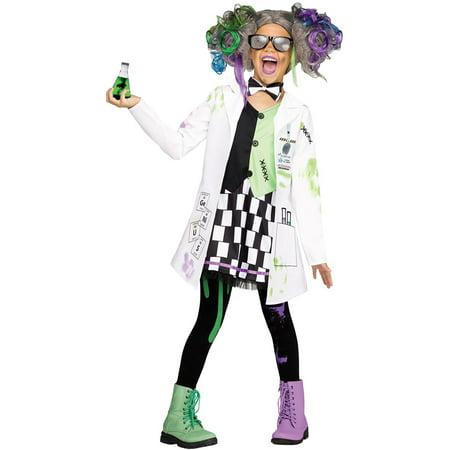 Scientist Costume For Halloween (Mad Scientist Girl Child Halloween)