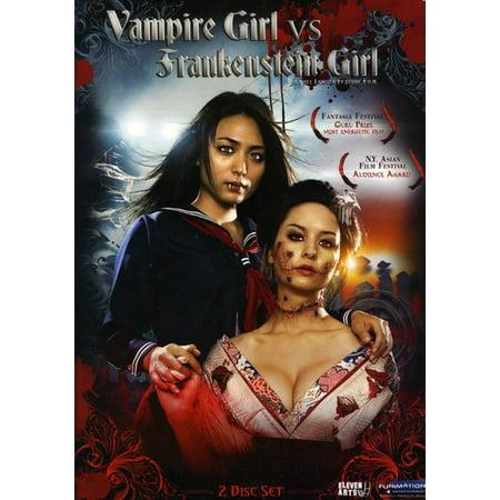 Vampire Girl Vs Frankenstein Girl: Live Action Movie for $<!---->
