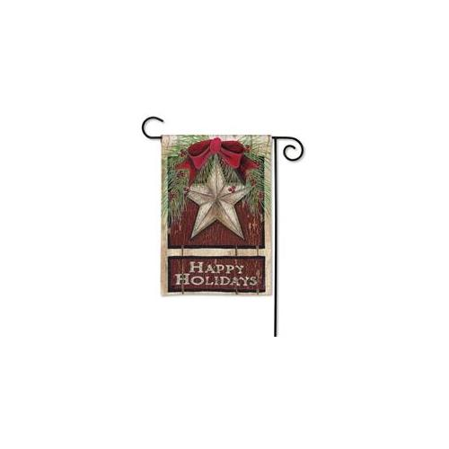 Magnet Works,  MAIL37412 Holiday Barn Star Grdn Flag