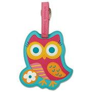 Stephen Joseph Luggage Tag - Owl